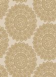 Lustre Mandala Gold Wallpaper 65094 By Four Walls